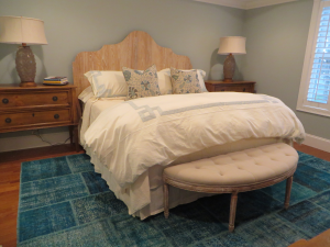 Rhode Island home master bedroom design