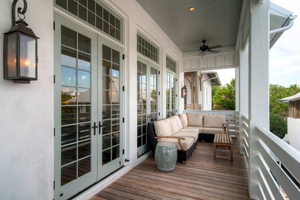 Rosemary Beach patio and porch