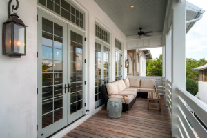 Rosemary Beach house patio and porch