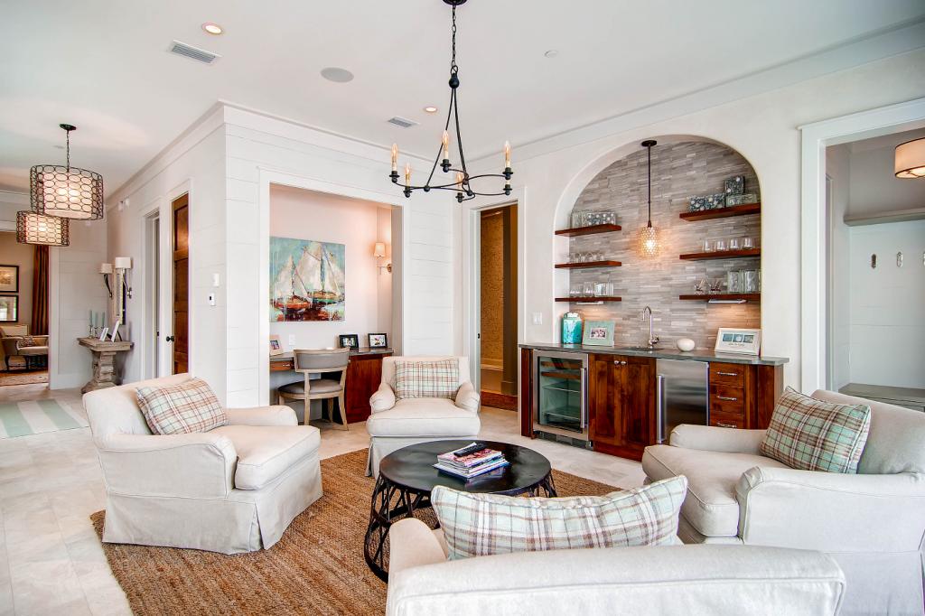 Rosemary Beach living room