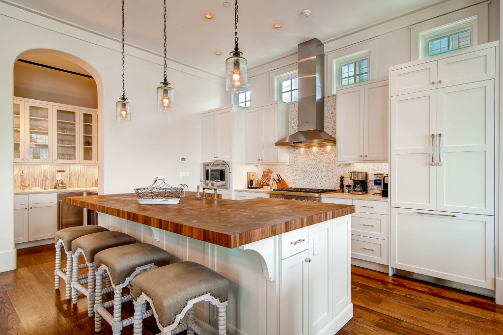 Rosemary Beach kitchen counter seating