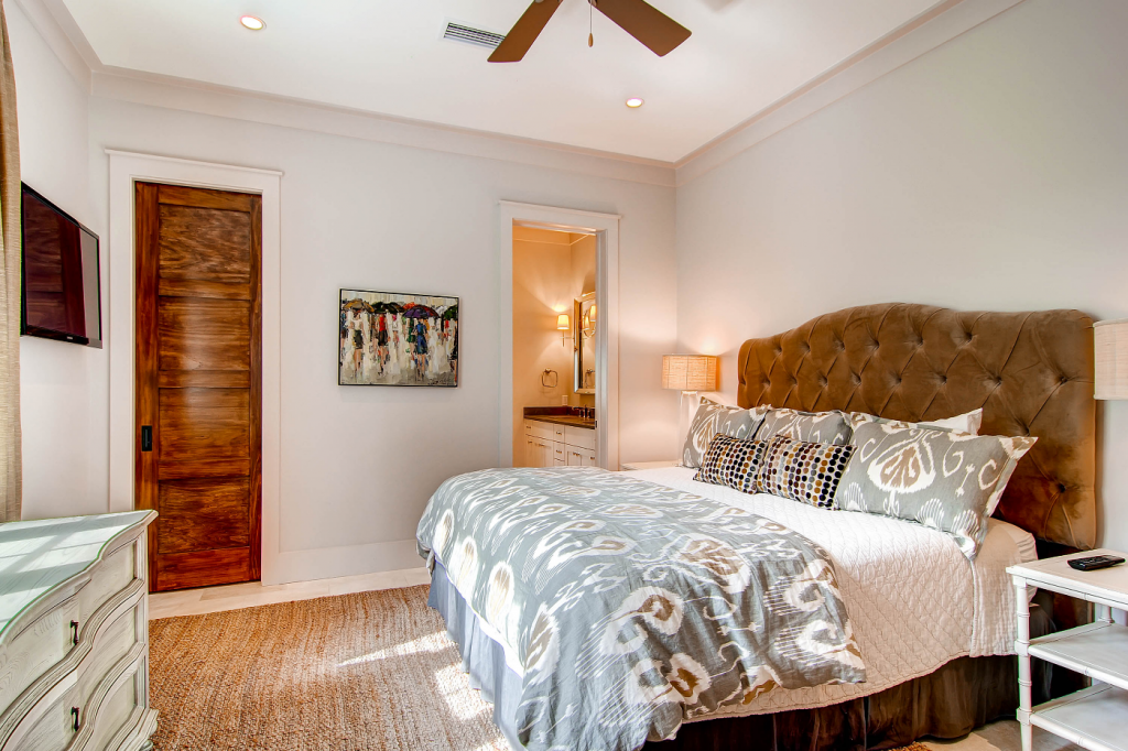 Rosemary Beach second master bedroom