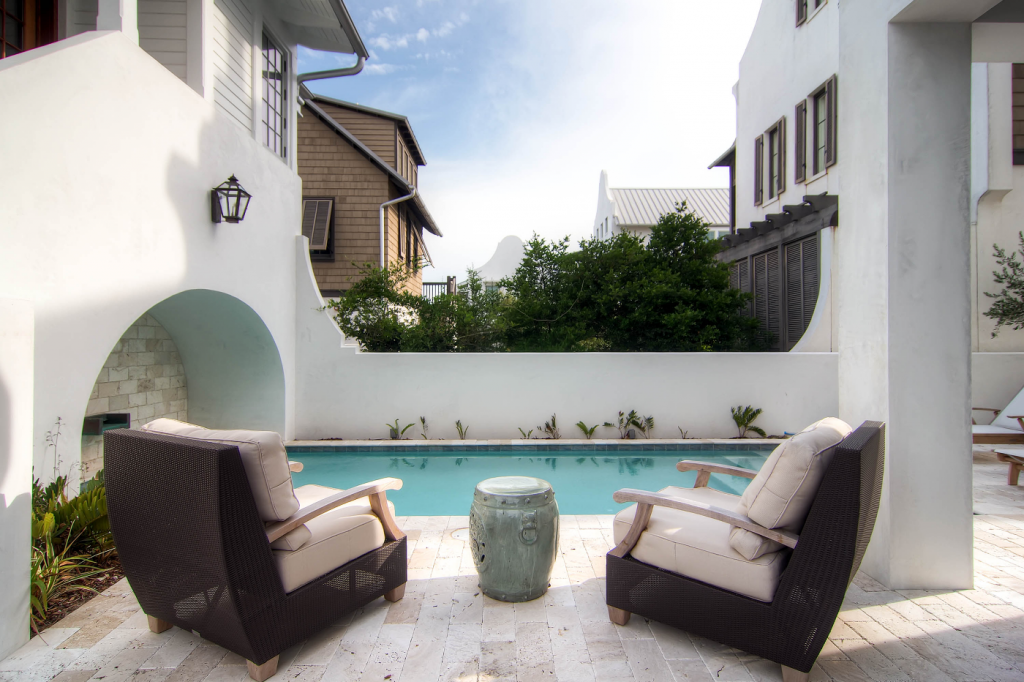 Rosemary Beach outdoor pool furniture