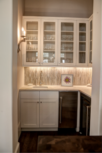 Rosemary Beach house kitchen wet bar