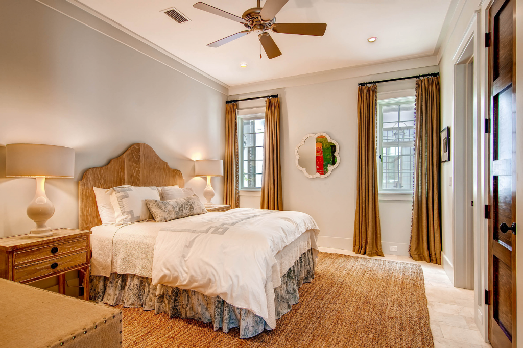 Rosemary Beach guest bedroom