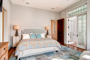 Rosemary Beach house master bedroom design