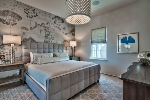 Alys Beach house bedroom