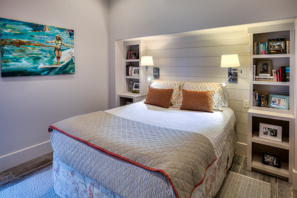 Inlet Beach house master bedroom