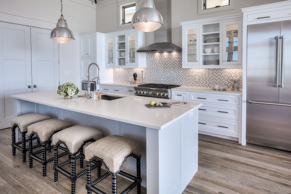 Inlet Beach kitchen seating