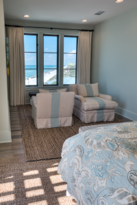 Inlet Beach house bedroom chairs