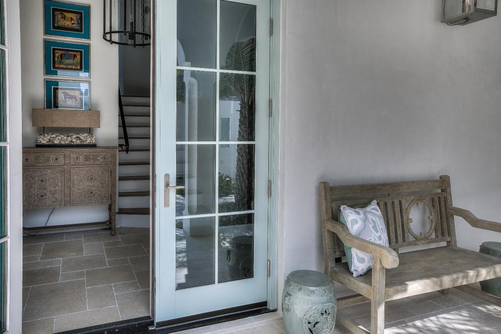 30A beach house outdoor foyer