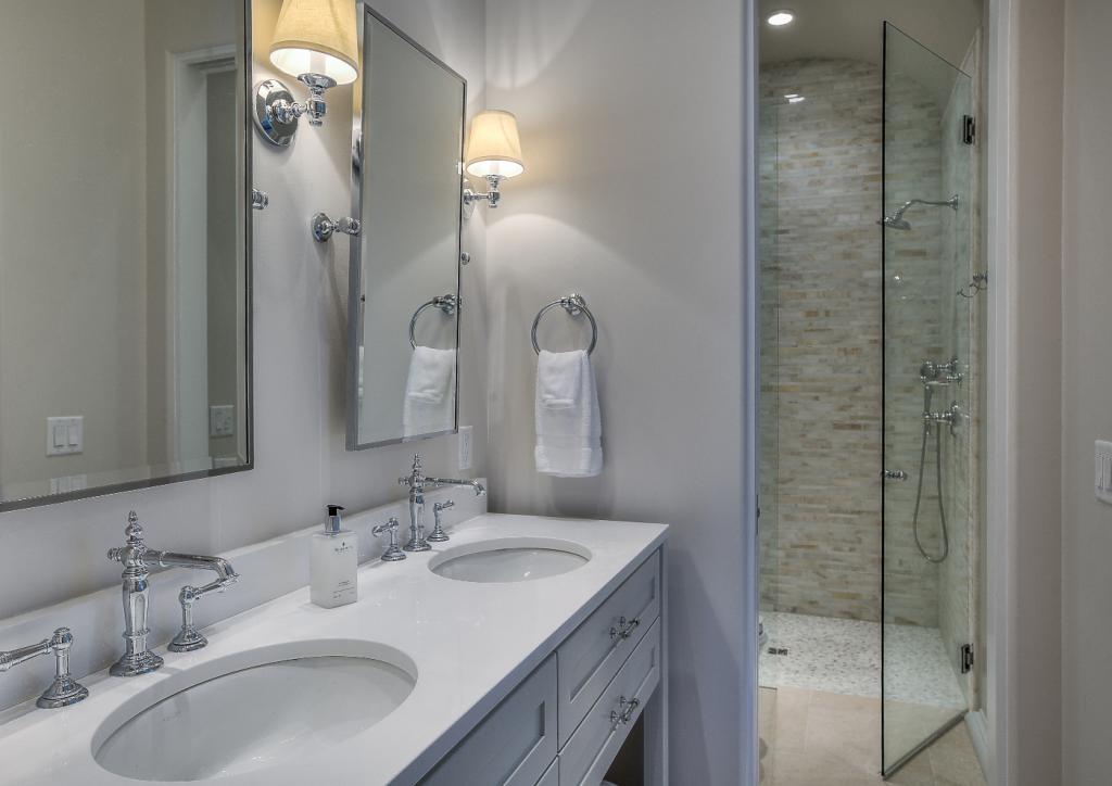 30A beach house guest bathroom shower
