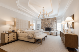 Master Bedroom Interior Design in Roswell Georgia