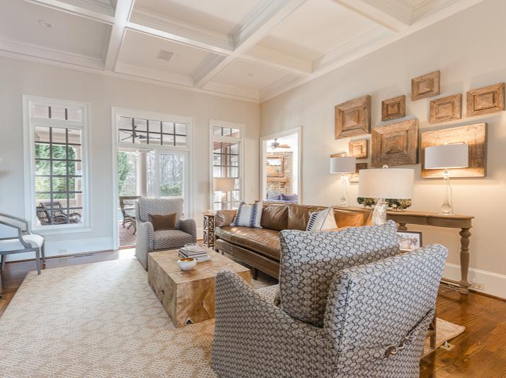 Roswell Georgia Living Room Interior Design